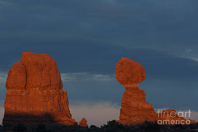 Balanced Rock Art Print