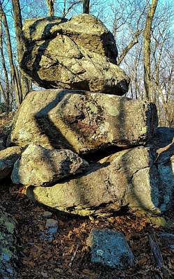 Photograph - Balanced Rocks by Bruce Carpenter