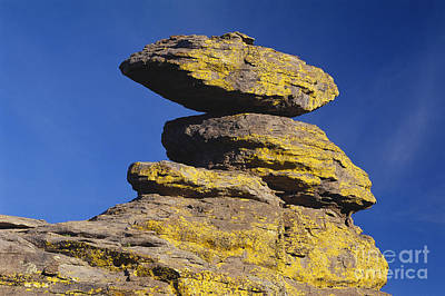 Photograph - Balanced Rocks In Arizona by James Steinberg