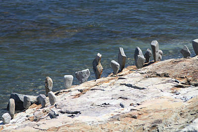 Photograph - Balanced Rocks by Living Color Photography Lorraine Lynch