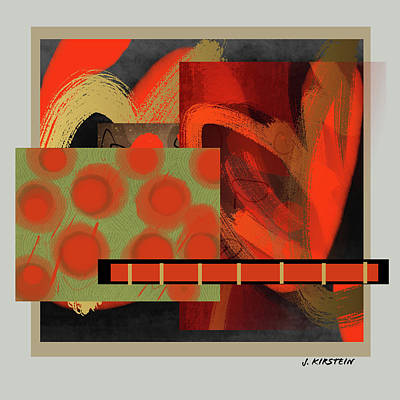 Featured Tapestry Designs - Balancing Act 9 by Janis Kirstein