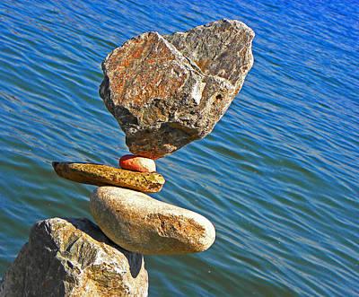 Photograph - Balancing Act by Elizabeth Hoskinson