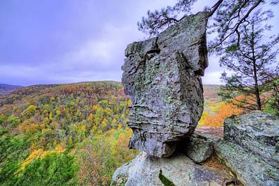 Photograph - Balancing Act In The Ozarks by JC Findley