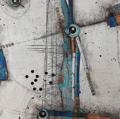 Repeat Mixed Media - Balancing Act by Laura Lein-Svencner