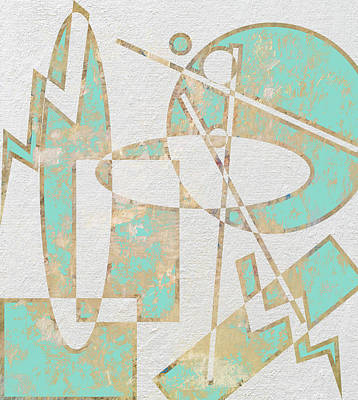 Alexander Calder Digital Art - Balancing Act by Linda Dunn