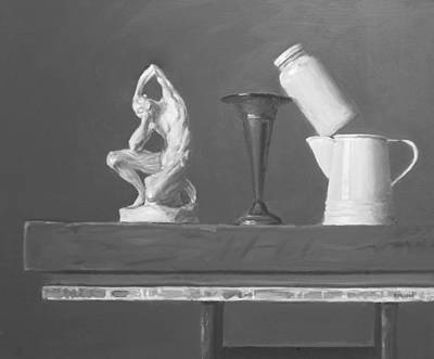 Painting - Balancing Act by Robert Holden