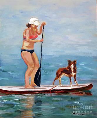 Painting - Balancing Act by Shelley Koopmann