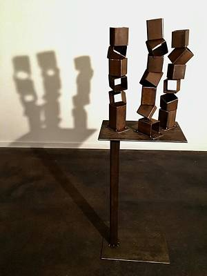 Sculpture - Balancing Act by Steve Shigley