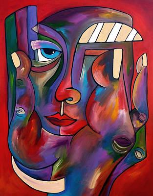 Painting - Balancing Act by Tom Fedro - Fidostudio