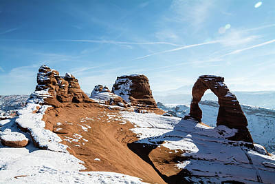Abstract Graphics - Delicate Arch Wide by Robert VanDerWal