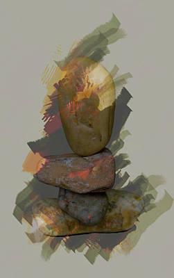 Photograph - Balancing Stones by John Stuart Webbstock
