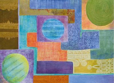 Balancing The Elements Art Print by Jennifer Baird