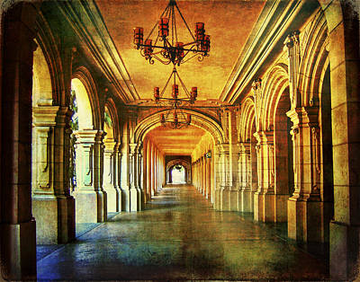 Balboa Digital Art - Balboa Corridor by Tammy Wetzel