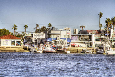 Corona Del Mar Photograph - Balboa Island by Ariane Moshayedi