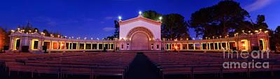 Photograph - Balboa Park Amphitheater by Eddie Yerkish