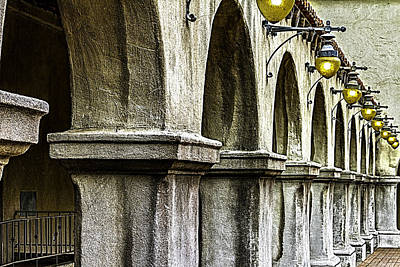 Colonial Architecture Photograph - Balboa Park Arches by Bill Gallagher