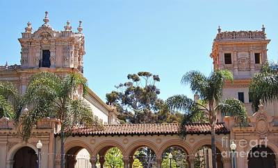 Photograph - Balboa Park Architecture 1915 - 2010 by Jasna Gopic