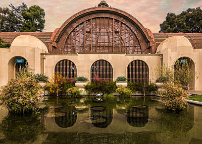 Photograph - Balboa Park Botanical Building Symmetry by Patti Deters