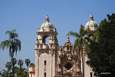 Digital Art - Balboa Park by Justin Hiatt