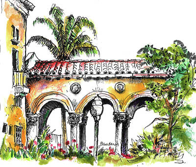 Painting - Balboa Park San Diego 3 by Terry Banderas