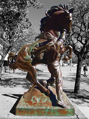 Photograph - Balboa Park San Diego - Horse Trainer by Glenn McCarthy Art and Photography