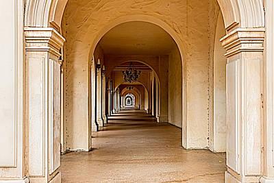 Photograph - Balboa Park Walkway by Bill Gallagher