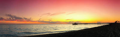 Pastel Sky Photograph - Balboa Pastels by Sean Davey