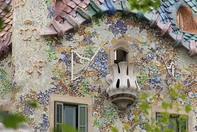 Photograph - Balcionies Of Casa Batllo In Barcelona, Spain by Blaz Gvajc