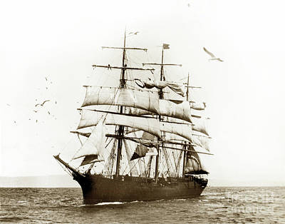 Photograph - Balclutha Was Built In 1886  Aka Star Of Alaska by California Views Archives Mr Pat Hathaway Archives