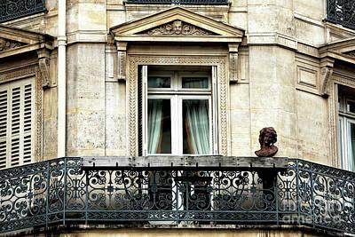 Photograph - Balcon Quartier Latin by John Rizzuto