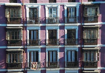 Photograph - Balconies A Bunch by David Resnikoff