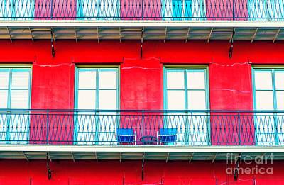 Photograph - Balconies by Frances Ann Hattier