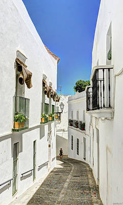 Photograph - Balconies In Vejer by Weston Westmoreland