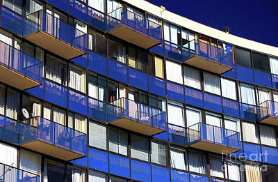 Photograph - Balconies In Vina Del Mar Chile by John Rizzuto