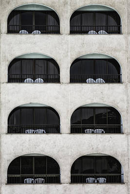 Architectural Design Wall Art - Photograph - Balconies by Joana Kruse