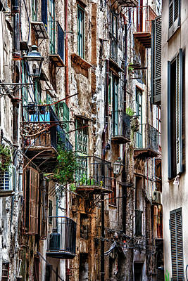 Photograph - Balconies Of Palermo by Patrick Boening