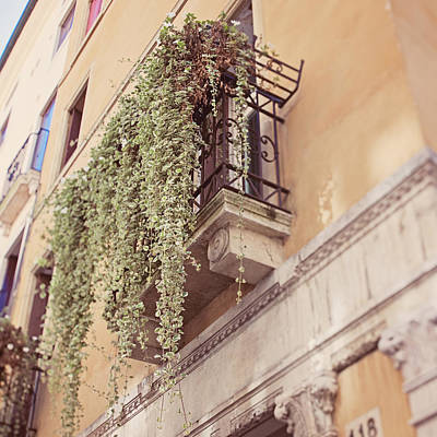 Photograph - Balconies Of Vicenza by Margaret Goodwin
