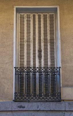 Photograph - Balcony And Shot Door by David Resnikoff