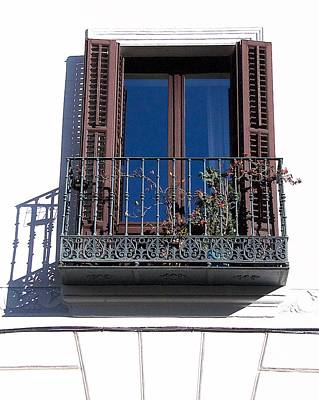 Photograph - Balcony And Sky by David Resnikoff