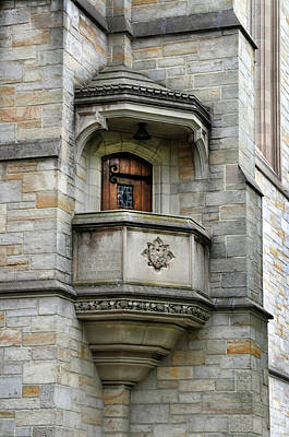 Photograph - Balcony At Princeton University by Dave Mills