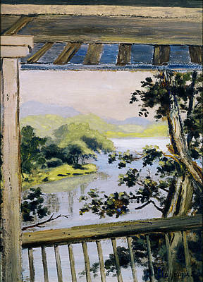 Painting - Balcony, Delaware Water Gap by Louis Michel Eilshemius