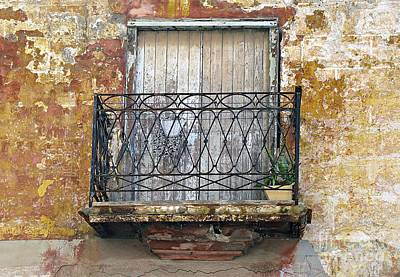Photograph - Balcony by Ethna Gillespie