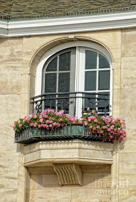 Photograph - Balcony Flower Box by Jim And Emily Bush