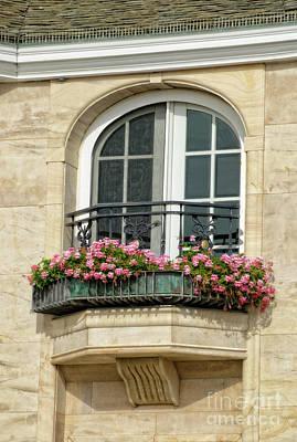 Photograph - Balcony Flower Box by Jim And Emily Bush