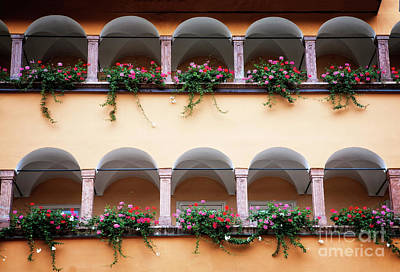 Photograph - Balcony Flowers by Scott Kemper