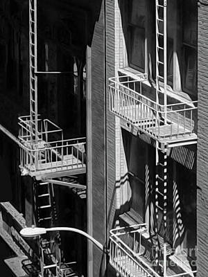 Photograph - Los Angeles Balconies by Gregory Dyer