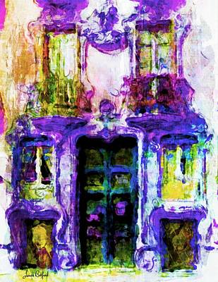 Painting - Balcony Of Poets by Laura Botsford