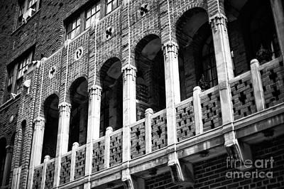 Photograph - Balcony On 72nd Street by John Rizzuto