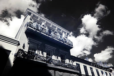 Photograph - Balcony Rising Infrared by John Rizzuto