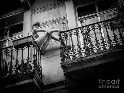 Photograph - Balcony Scene by Hans Janssen